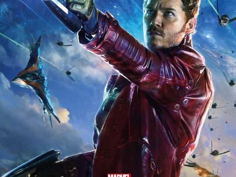 Zoe Saldana gets her close-up in new batch of terribly exciting Guardians of the Galaxy posters