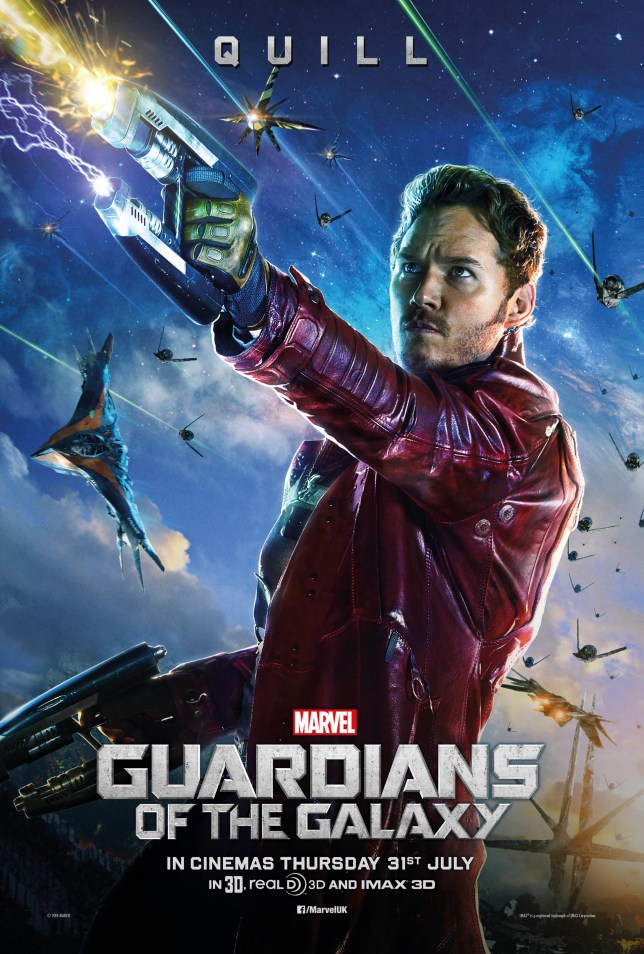 Chris Pratt plays Peter Quill (Picture: Marvel)