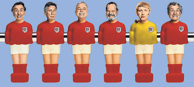 Time to sing along: Monty Python release unofficial World Cup song