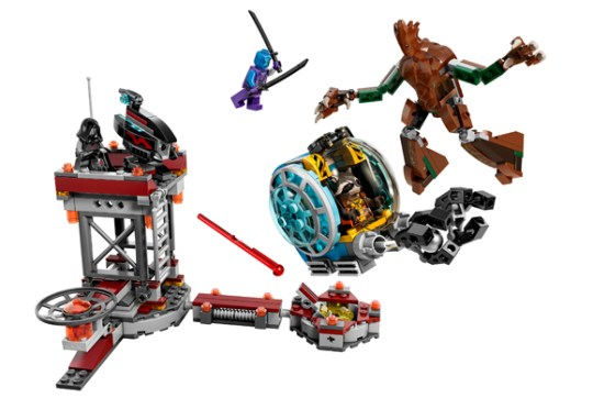 New Guardians of the Galaxy Lego sets are pretty awesome