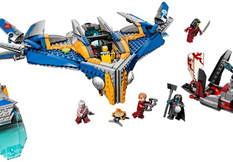 The new Guardians of the Galaxy Lego sets are pretty awesome