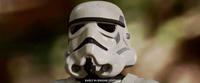 Star Wars: Battlefront - this is not the in-game footage you're looking for