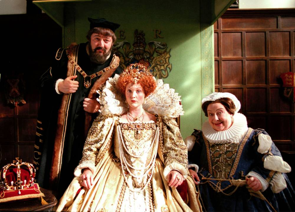 Blackadder stars Stephen Fry and Tony Robinson pay tribute to Patsy Byrne: 'We were her boys'
