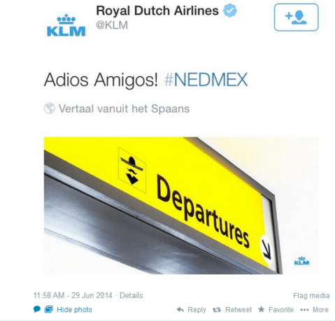 Dutch airline KLM score massive own goal with mocking Tweet after the Netherlands' World Cup win over Mexico