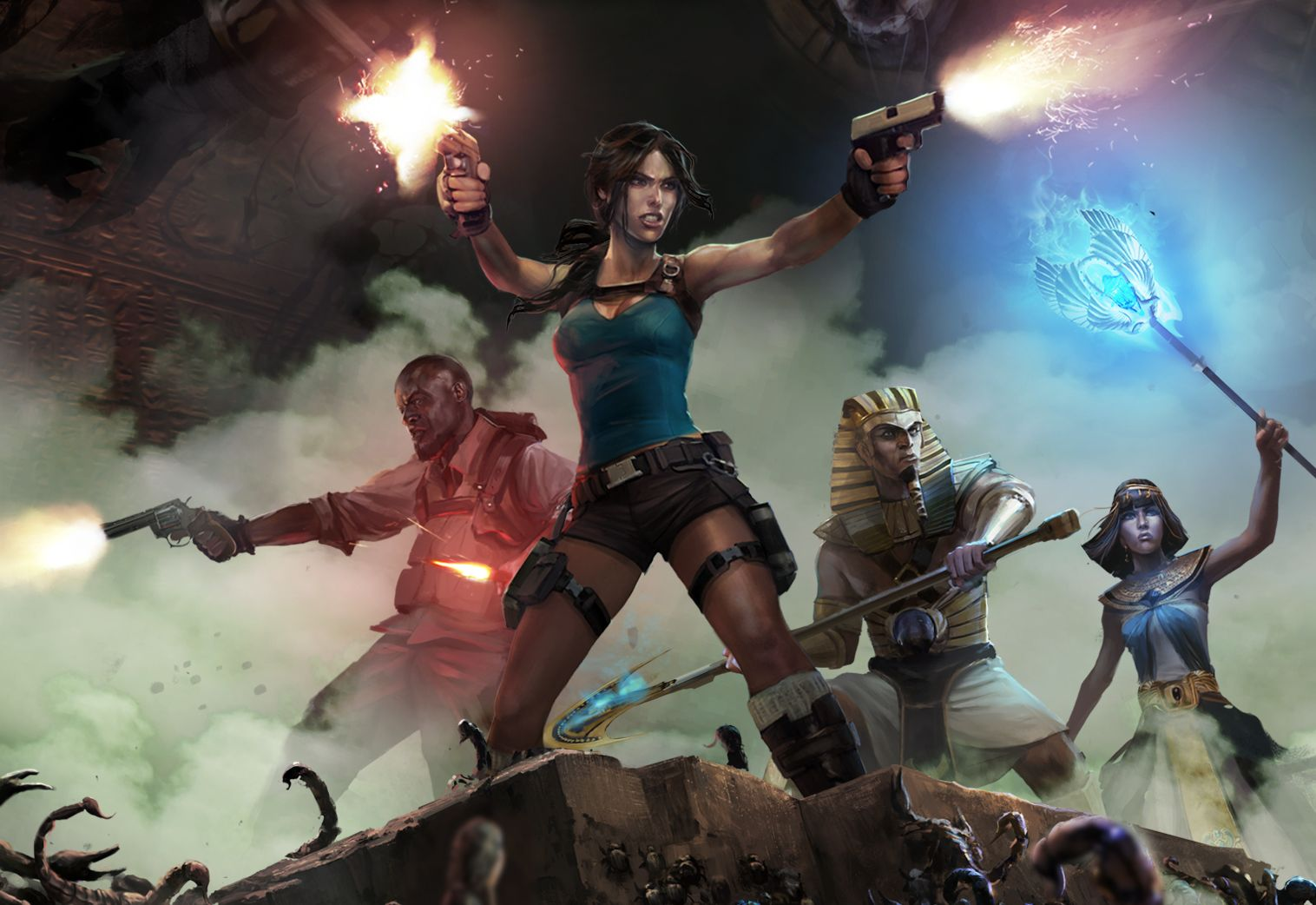 Lara Croft And The Temple Of Osiris hands-on preview – Tomb Raider(s)