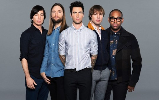Maroon 5 are back with more sun-drenched tunes (Picture: Supplied)