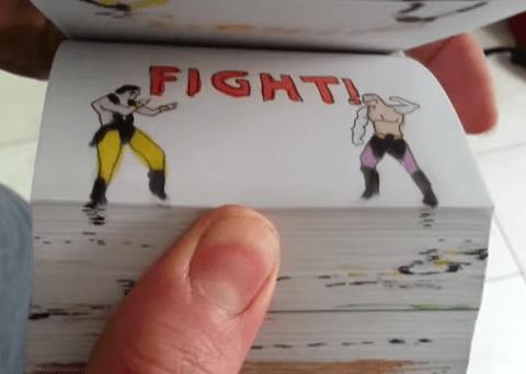 Incredible Mortal Kombat flipbook