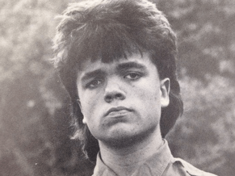Peter Dinklage's retro yearbook photo is the best thing we've seen all day