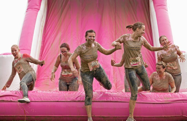race for life pretty muddy event