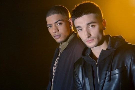 Richard Rawson and Tom Parker both appear in the video for Fireflies (Picture: Supplied)
