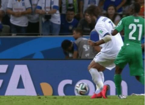 Did Greece striker Georgios Samaras dive to dump Ivory Coast out of World Cup?