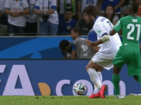 Did Greece striker Georgios Samaras dive to dump Ivory Coast out of World Cup?