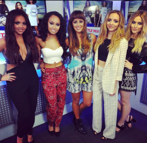 Little Mix admit 'going braless can be a problem' in Max from Capital's latest Metro blog
