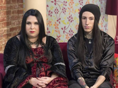 Meet the real life Edward and Bella: The couple that live as vampires