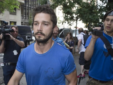 Downward spiraling actor Shia LaBeouf finally 'checks into rehab'