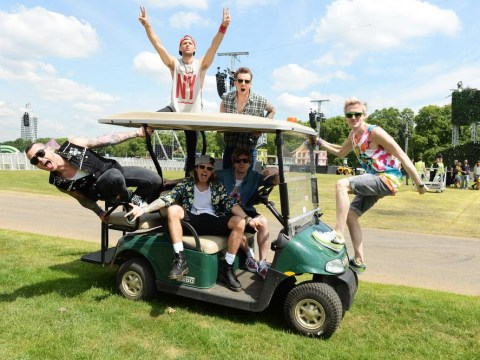 McBusted tell fans to expect 'pure and utter carnage' at the British Summer Time Festival