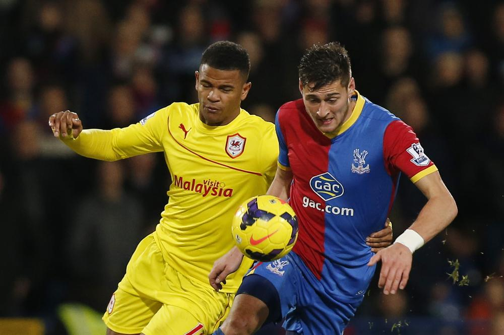 Crystal Palace close on deal for Cardiff City striker Fraizer Campbell