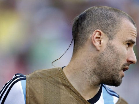 Does Argentina's Rodrigo Palacio have the worst 'haircut' at the World Cup?