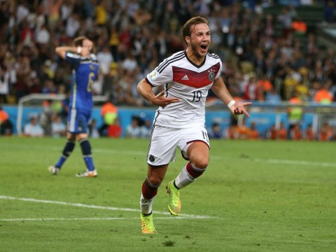 Mario Gotze's World Cup winning goal produces incredible commentary on German radio station