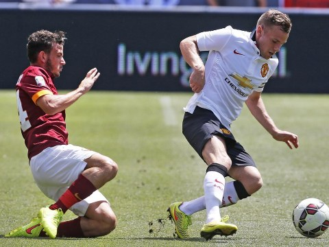 Tom Cleverley cruelly slammed on Twitter after being named Manchester United captain against Roma