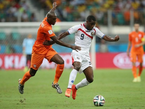 Four gifs which indicate Costa Rica's Joel Campbell is ready to challenge for a place at Arsenal