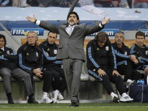 Diego Maradona claims Lionel Messi played 'five times' better under him than Alejandro Sabella – which World Cup was he watching?