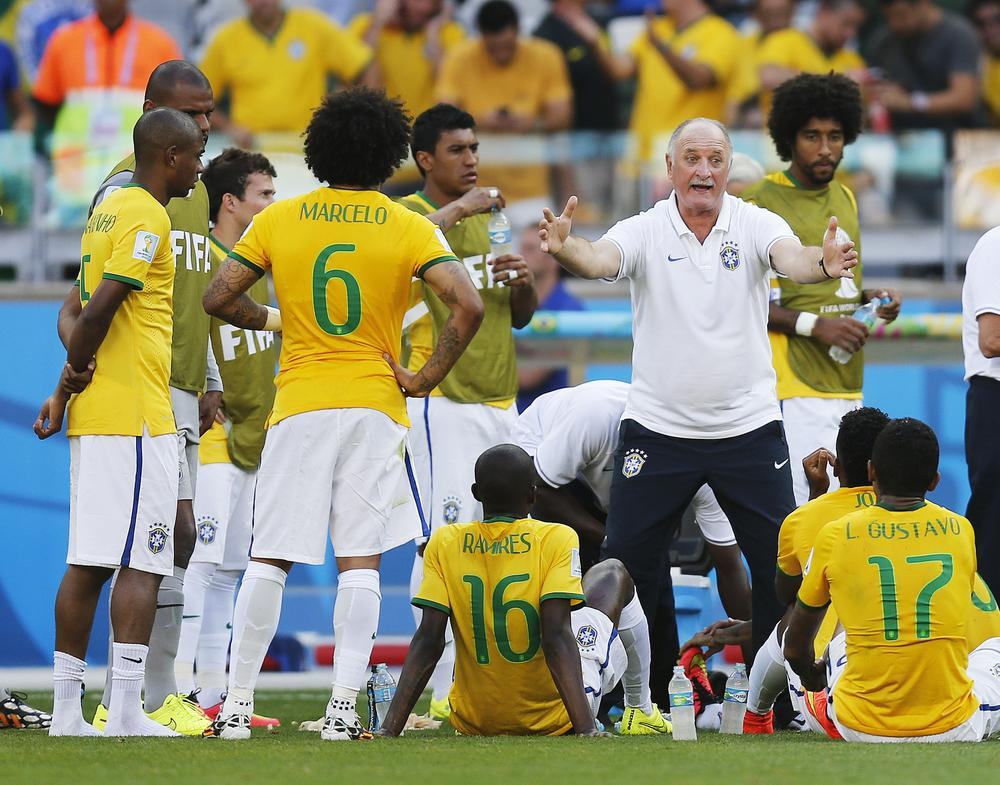 Felipe Scolari has galvanised Brazil for this moment – but can they deliver?