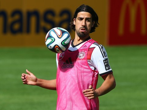 Arsenal 'still 100% keen on Sami Khedira transfer despite wage demands row'