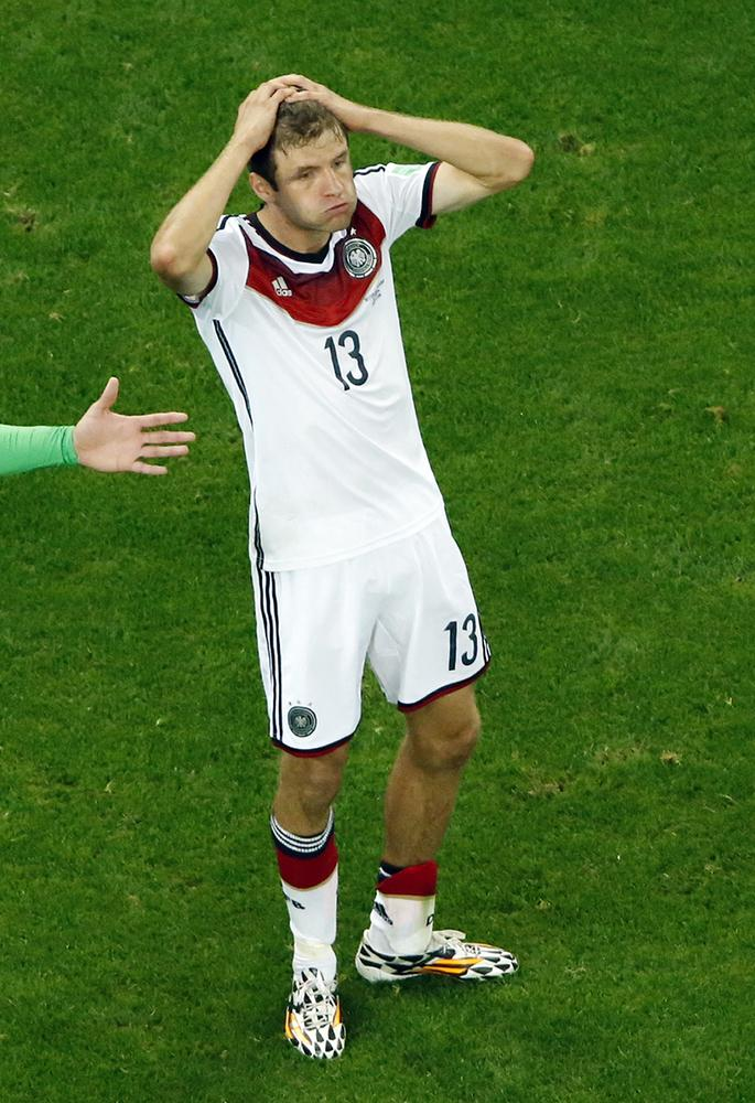 Germany still in Brazil despite 'lamentable performance' against Algeria