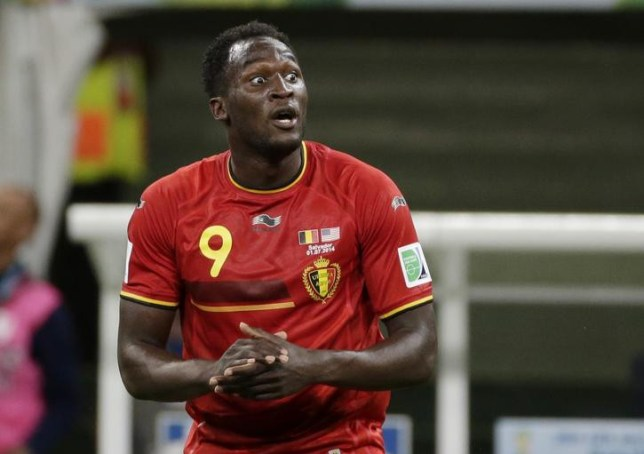 Belgium's Romelu Lukaku celebrates after scoring during the World Cup round of 16 soccer match between Belgium and the USA at the Arena Fonte Nova in Salvador, Brazil, Tuesday, July 1, 2014. (AP Photo/Felipe Dana) AP Photo/Felipe Dana