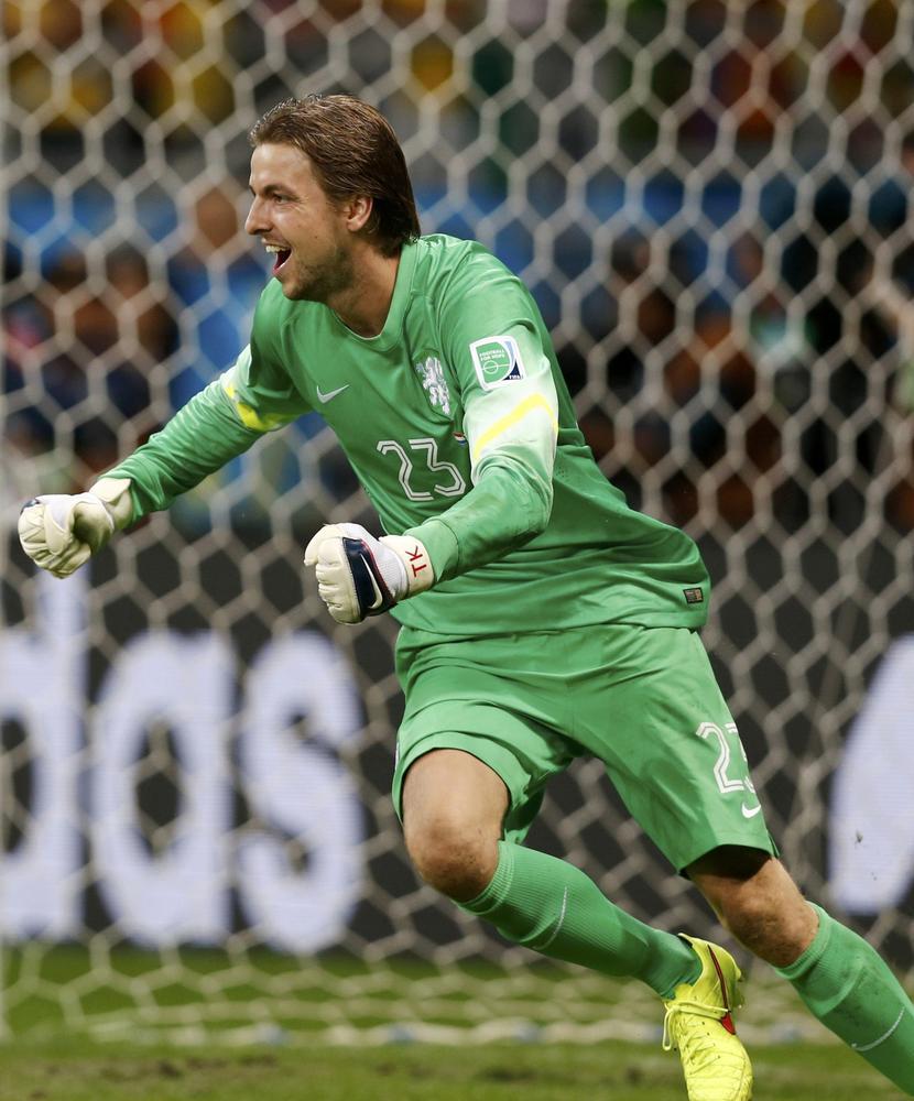 Louis van Gaal's choice to bring Tim Krul for penalties against Costa Rica was another stroke of genius