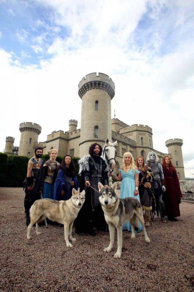 A wedding in Westeros: Game Of Thrones superfans tie the knot as Daenerys Targaryen and Jon Snow