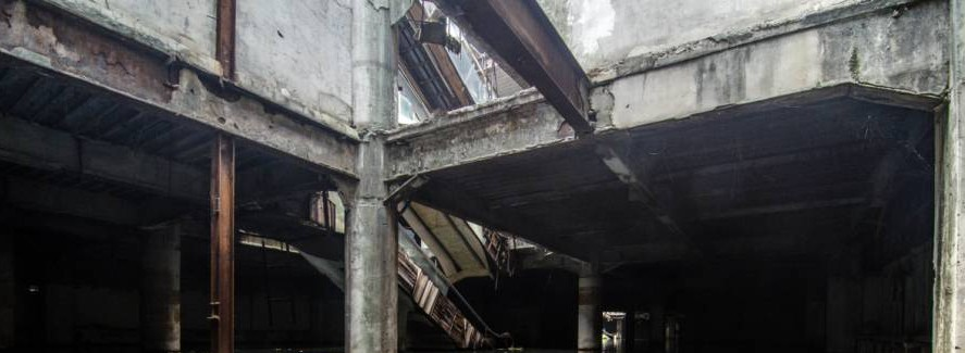 You'll never guess what is under this abandoned shopping mall