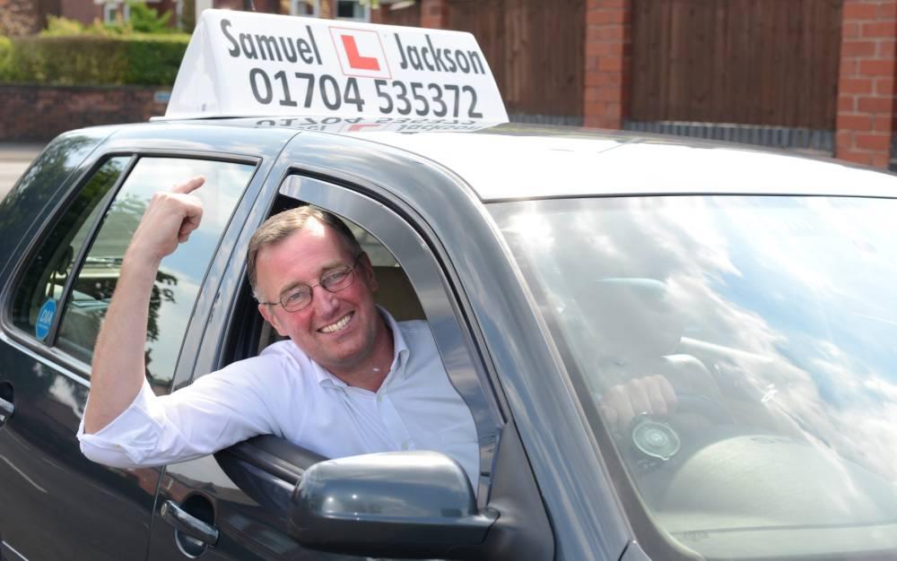 Sam Jackson driving instructor