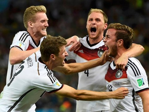 Mario Goetze wins Germany World Cup 2014 with this stunning volley