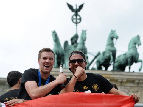 Pictures: Triumphant football World Cup 2014 champions Germany arrive at Berlin to heroes welcome