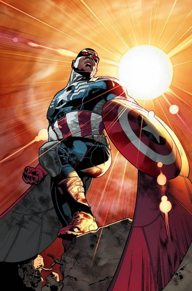 The new Captain America is The Falcon and it's super exciting!