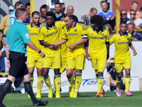 Chelsea captain John Terry nets three goals in two pre-season games