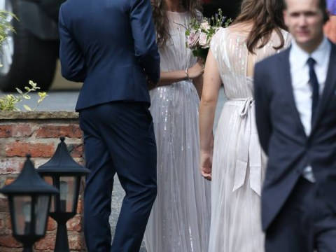 Louis Tomlinson's mum Johannah gets married and Eleanor Calder is bridesmaid, oo-er!