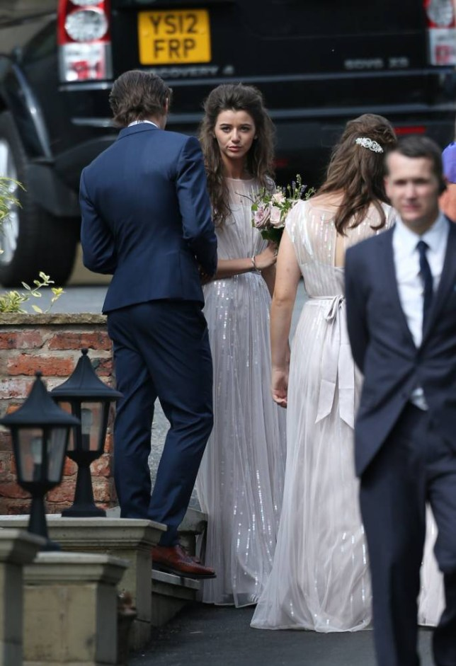 Eleanor Calder, Louis Tomlinson, wedding