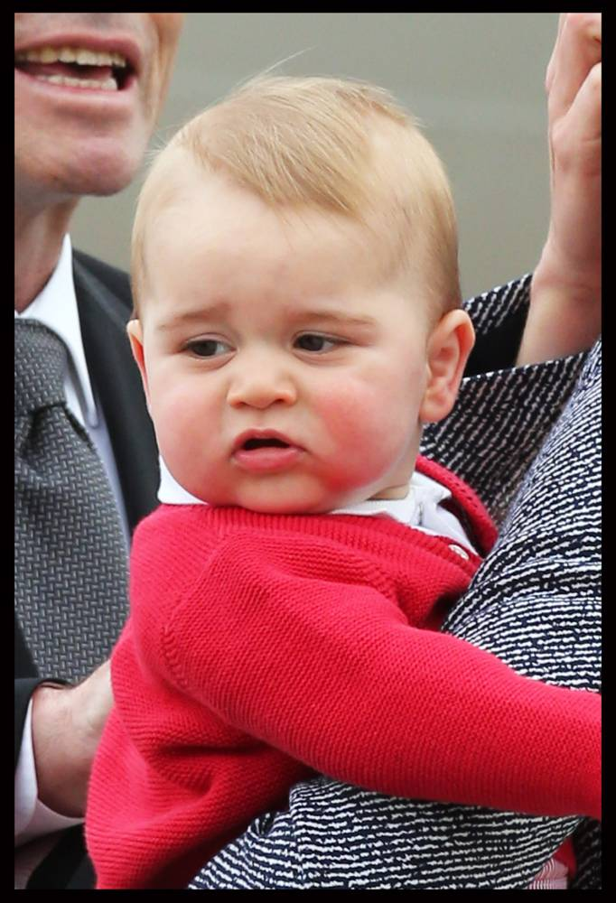 10 reasons we SHOULD celebrate Prince George's first birthday