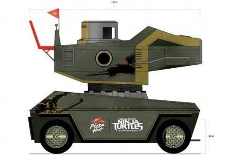 Teenage Mutant Ninja Turtles awesomeness just went up a notch with this pizza thrower