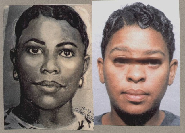 Sketch done from mother who had a 10 hour old baby kidnapped from her hospital room. This woman was identified within a few hours of the sketch release.