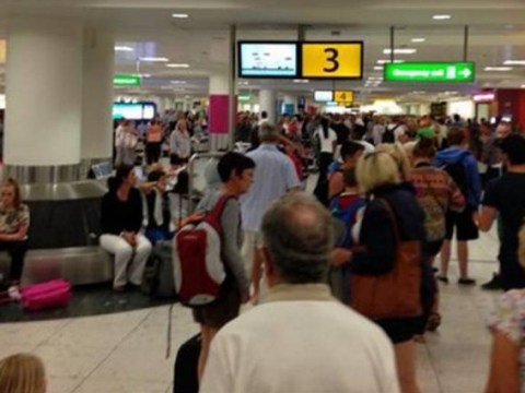 Gatwick staff shortage means passengers wait five hours for bags… or go home