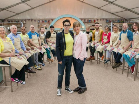 It's rolling pins at dawn with the first-look pictures of Great British Bake Off 2014