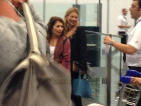 'Very drunk' Kate Moss blags her way onto EasyJet flight home