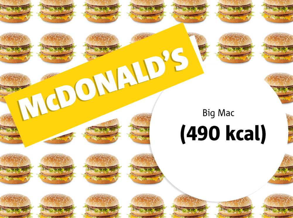 Healthy lunches, Low-fat lunches, Low fat meals, McDonald's, Big Mac, Dieting tips, Healthy eating, McDonald's calories, Food under 500 calories, 5:2 diet