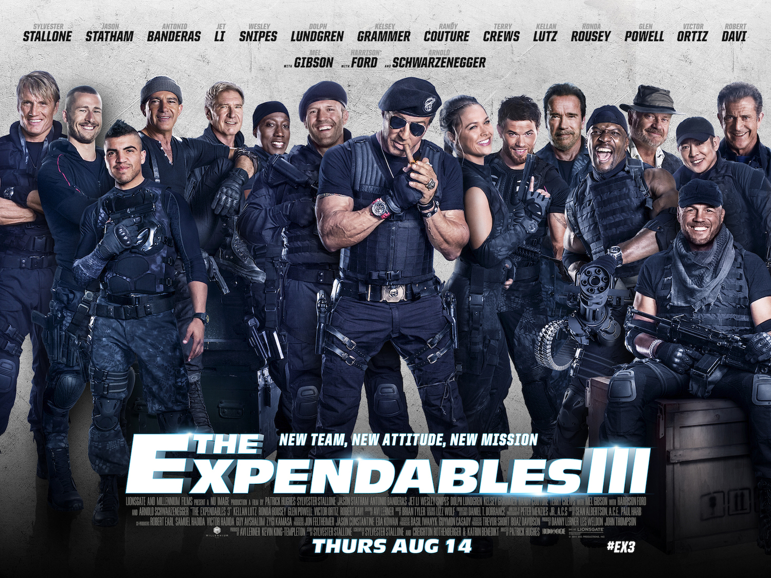 Win: Get your mitts on a pair of tickets to the Expendables 3 World Premiere