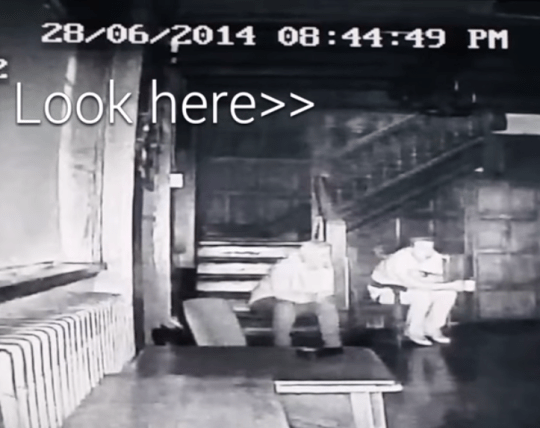 ghost hunters claim the spirits of three children can be seen (Picture: Youtube / Sefton Paranormal)