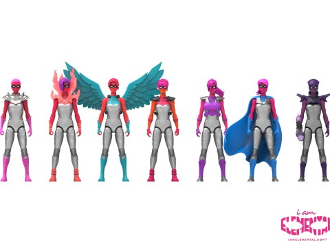 Forget female Thor, here's IAmElemental and the new action figures for girls